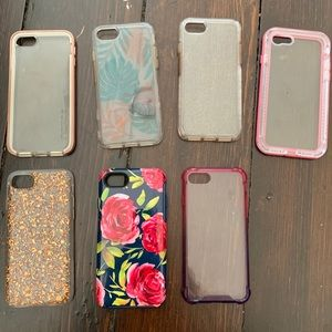 Bundle of iPhone 8 cases!